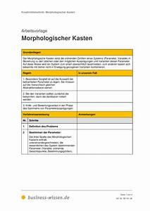 Kapitalbedarf Berechnen : morphologischer kasten vorlage business ~ Themetempest.com Abrechnung