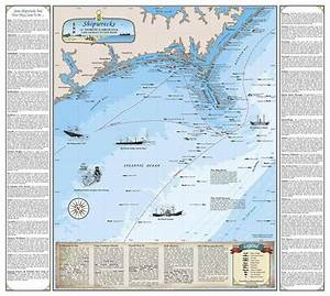 South Florida Nautical Charts North Carolina Shipwreck Chart Cape Lookout To New River