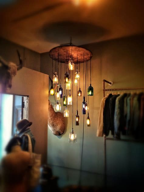 diy chandeliers   light   day