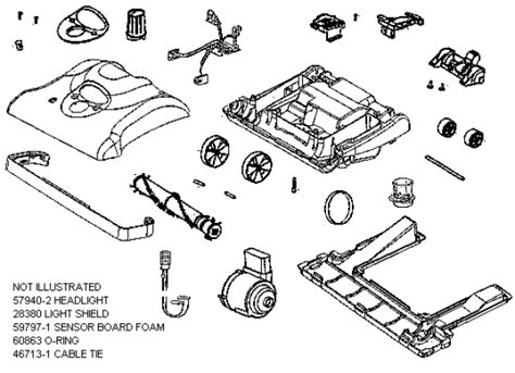 eureka series  factory parts diagrams  schematics