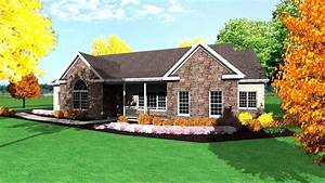 One Story Ranch House Plans 1-Story Ranch Style Houses