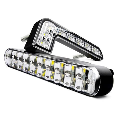 led video light kit led daytime running lights drl with on off feature wiring
