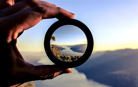 Interesting Photo of the Day: Looking Through a Lens