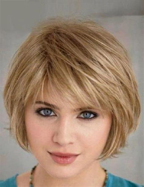 ideas  short hairstyles  thin fine hair   face