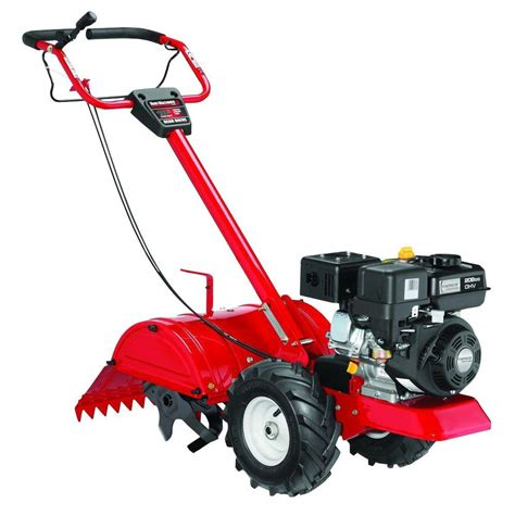Rototiller Home Depot by Yard Machines 18 In 208cc Rear Tine Counter Rotating Gas