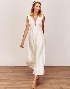 Robe Boheme Courte : robe de mari e courte boh me chic ensconet ~ Melissatoandfro.com Idées de Décoration