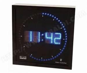 Horloge Murale Led : cat gorie horloges pendule et comtoise page 9 du guide et comparateur d 39 achat ~ Teatrodelosmanantiales.com Idées de Décoration