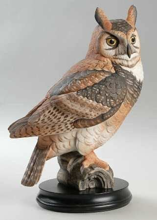 Beautiful Bird Owl Figurines Collectibles by Goebel Porcelain Owl Figurine Porcelain Owl Great