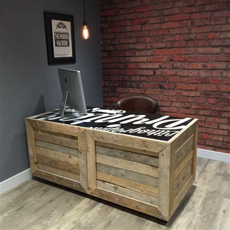 bureau en palette de bois bureau en palette de bois mzaol com