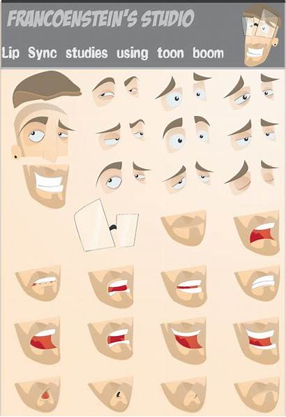 Animation Lipsync Mouth Reference Cartoon Tutorial Character