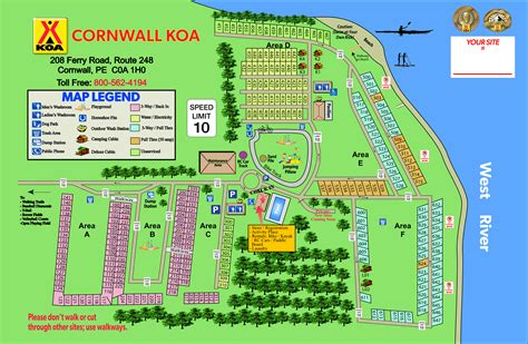 Cornwall, Prince Edward Island Rv Camping Sites Cornwall