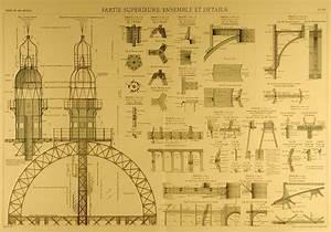 Plan De Construction : blueprints of the eiffel tower arkinet ~ Melissatoandfro.com Idées de Décoration