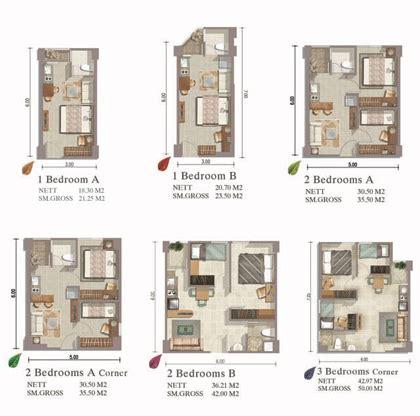 Type Unit Apartemen Kalibata City