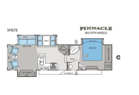 2012 Jayco 5th Wheel Floor Plans by 2012 Jayco 31rlts Fifth Wheel Northside Rvs