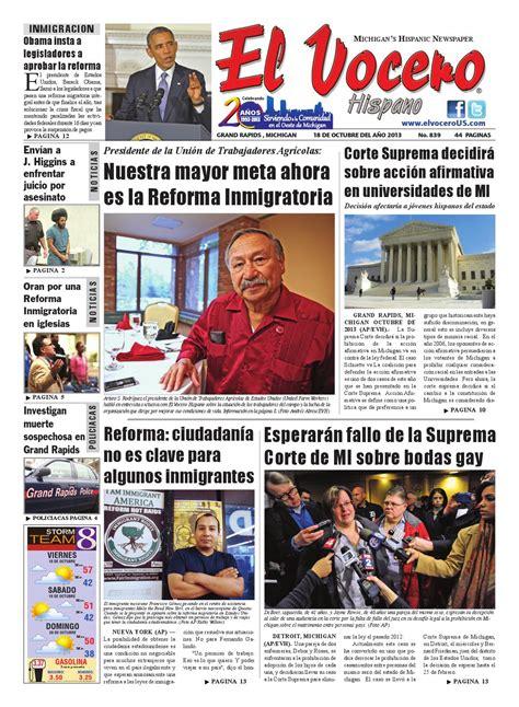 El Vocero Hispano 18 de Octubre 2013 by Ervin Jose