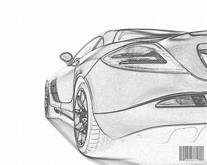 Try these simple car drawings and use the outlines as a ...