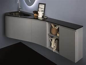 meuble sous vasque d angle obasinccom With meuble sous vasque suspendu 0 meuble sous vasque dangle par tacoule38 sur lair du bois