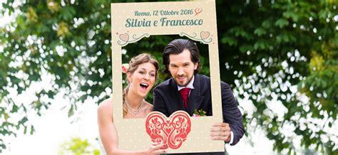 Cornici Foto Matrimonio Cornice Photo Booth Matrimonio Personalizzata Per Te Picmee