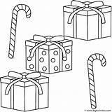 Coloring Candy Gifts Cane Canes Printable Present Drawing Merry Getdrawings Library Popular sketch template