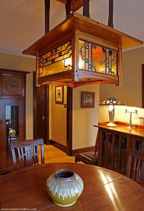 Craftsman Style Dining Room Chandeliers by Mission Style Dining Room Table Plans Free Woodworking