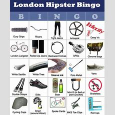 London Hipster Bingo  Teenslain Flickr
