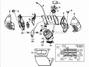 Chamberlain 248735 Parts List And Diagram