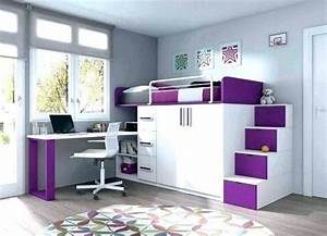 stunning bureau chambre ado photos design trends 2017 With bureau pour chambre de fille