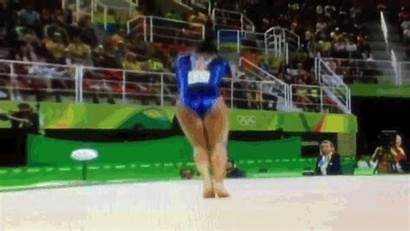 Neck Floor Gymnast Fall Olympic During Exercises