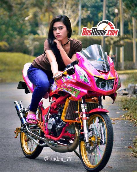 Foto Model Cb by Modifikasi Motor Kawasaki Dan Cewek Keren