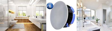 enceinte bluetooth 233 tanche encastrable au plafond haut parleur bluetooth sp 233 cial salle de bain