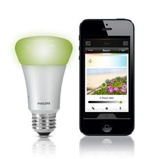 iphone controlled lights hue the iphone controlled light bulb system