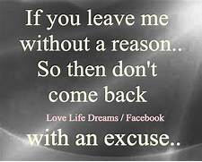 Why Did You Leave Me Quotes