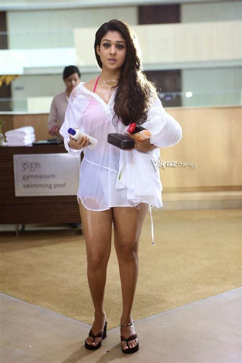 Nayantara Wet Hot Hd Photos In Aarambam Cineframes