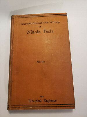 Get Inventions Researches & Writings Of Nikola Tesla 3Rd Edition Pics