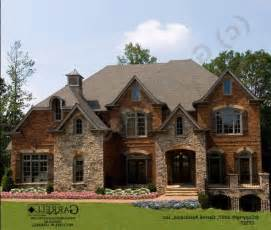 houses  brick stone combinations