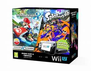 Wii U Bundle With Mario Kart 8 Splatoon Coming To