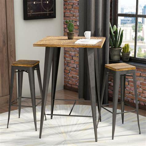 trent austin design claremont  piece pub table set