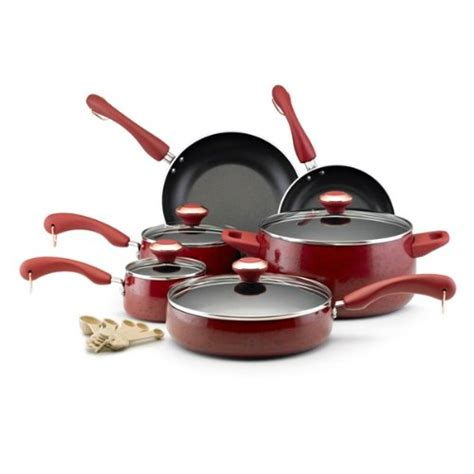 cookware glass stoves nonstick piece paula deen porcelain signature buyer guide