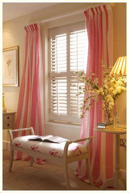 plantation shutters with curtains tickled pink
