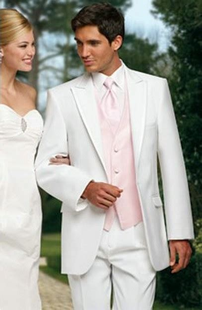 light pink tuxedo new arrival custom made white groom mens tuxedo suits with