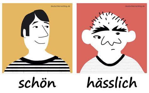 Schön Machen by Die 200 Wichtigsten Deutschen Adjektive Mit Bildern Lernen