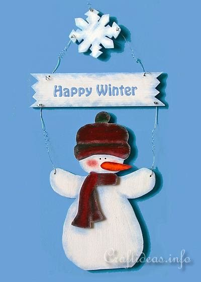 seasonal craft ideas free scrollsaw crafts wooden snowman door sign 2898