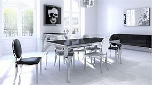 Salle A Manger Noir : mise en ambiance inspirations ~ Teatrodelosmanantiales.com Idées de Décoration