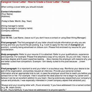 sample cover letter for caregiver in canada cover letter With sample resume for live in caregiver in canada