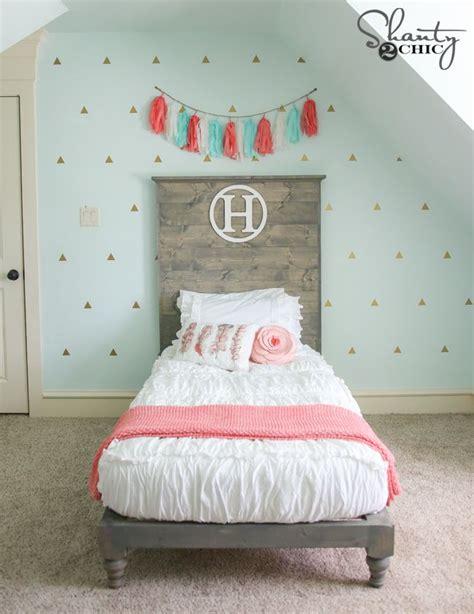 diy twin platform bed  headboard diy bed diy bed