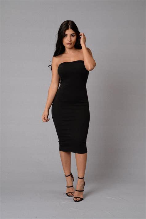 nicole dress fashion nova dresses dresses black