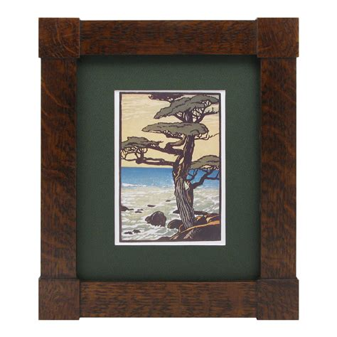 corner picture frames mission corner block frame mt2055 solid wood frames