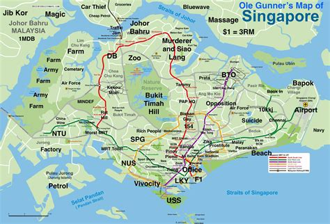 map  singapore   edmw  funny