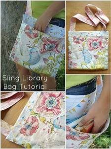 Sling Library Bag Tutorial By Patchwork Posse