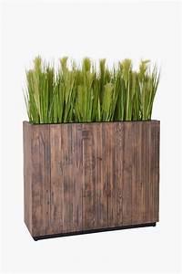 Raumteiler Aus Holz : pflanzk bel raumteiler aus recycling holz elemento 90 ~ Indierocktalk.com Haus und Dekorationen